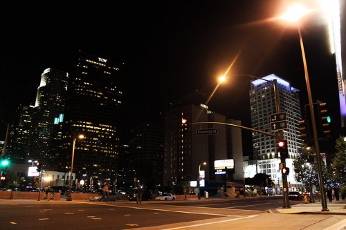 LA by night